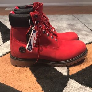 Chicago bulls timberlands limited edition